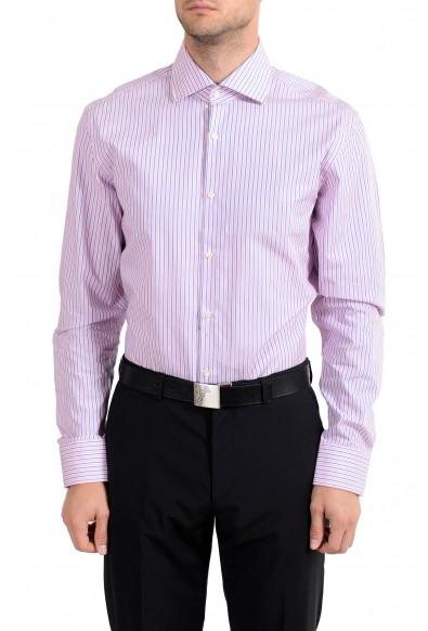 "Hugo Boss ""Miles US"" Men's Striped Sharp Fit Long Sleeve Dress Shirt"