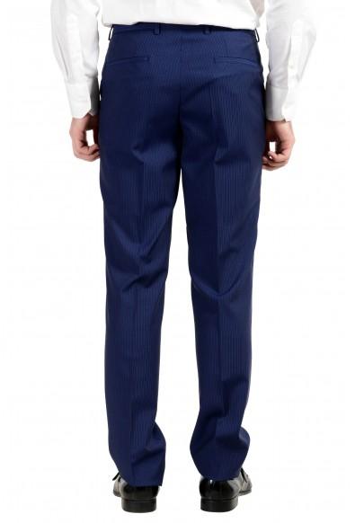 "Hugo Boss ""C-Jeffery/C-Simmon"" Men's 100% Wool Blue Striped Two Button Suit: Picture 2"