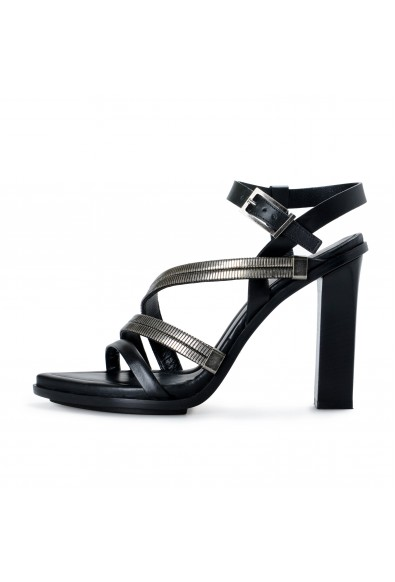 Versace Versus Women's Strappy High Heels Sandals Shoes: Picture 2