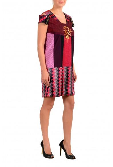 Just Cavalli Women's Multi-Color Silk Shift Dress : Picture 2