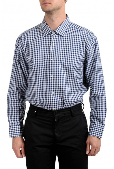 Hugo Boss Men's Marley US Sharp Fit Plaid Long Sleeve Dress Shirt : Picture 2
