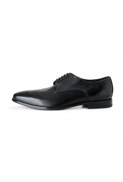 """Hugo Boss Men's """"Highline_Derb-bu"""" Black Leather Derby Shoes: Picture 2"""