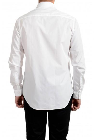 Versace Men's White Barocco Print Long Sleeve Dress Shirt: Picture 2