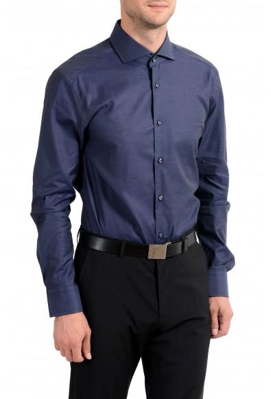 """Hugo Boss """"T-Christo"""" Men's Dark Blue Slim Fit Long Sleeve Dress Shirt: Picture 2"""
