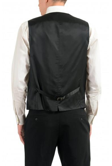 "Hugo Boss ""Westin"" Men's Gray 100% Wool Button Up Dress Vest: Picture 2"