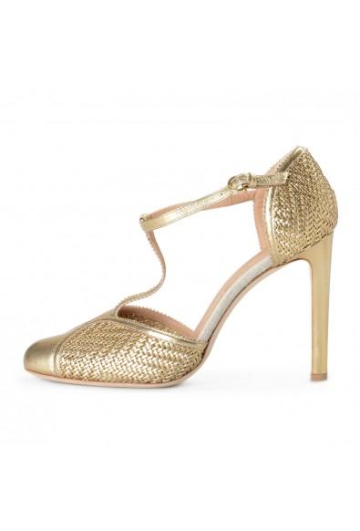 Salvatore Ferragamo Women's Emanuela Leather High Heel Pumps Shoes: Picture 2