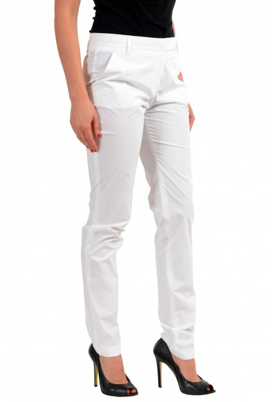 Viktor & Rolf White Women's Casual Pants: Picture 2