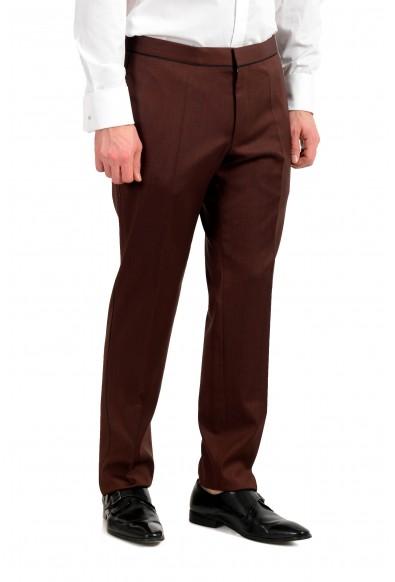 "Hugo Boss ""Henry1/Glow1"" Men's 100% Wool Slim One Button Tuxedo Suit: Picture 2"