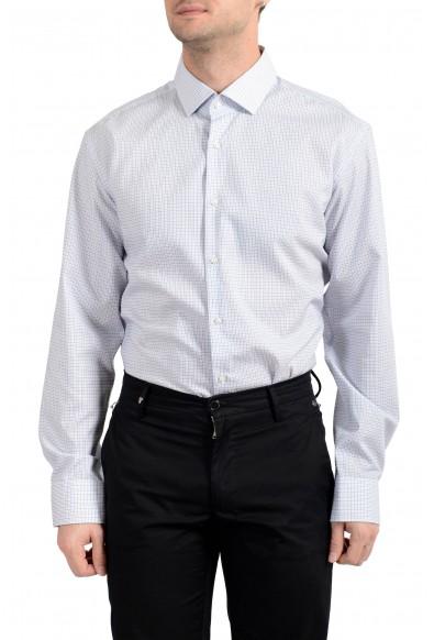 "Hugo Boss Men's ""Gordon"" Plaid Regular Fit Long Sleeve Dress Shirt"