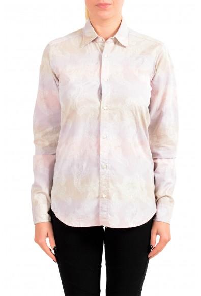 Etro Women's Multi-Color Button Down Blouse Shirt