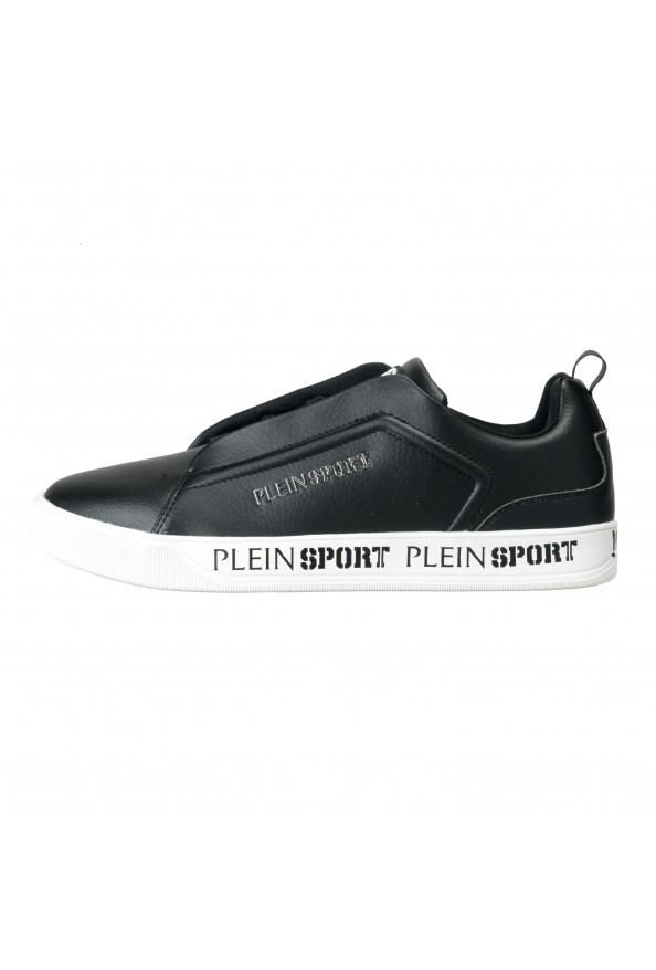 "Plein Sport ""John"" Black Slip On Fashion Sneakers Shoes : Picture 2"