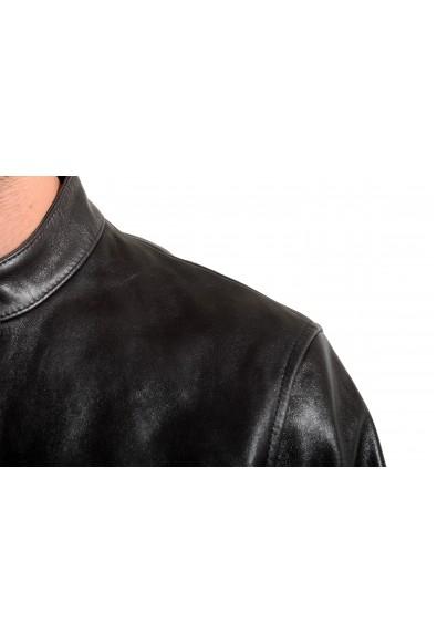 "Hugo Boss Men's ""Nadilo"" 100% Leather Black Biker Jacket: Picture 2"