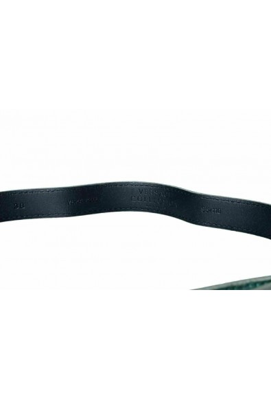 Versace Collection 100% Leather Green Women's Belt: Picture 2