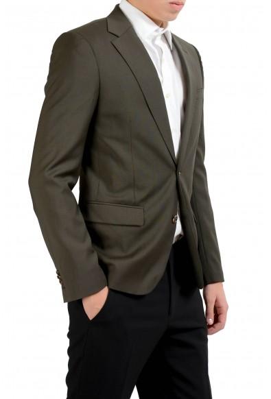 "Maison Martin Margiela ""14"" 100% Wool Green Men's Blazer Sport Coat: Picture 2"