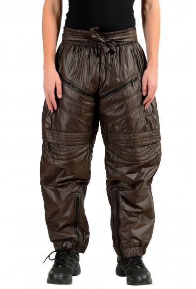 Dolce & Gabbana D&G Men's Brown Insulated Snow Pants