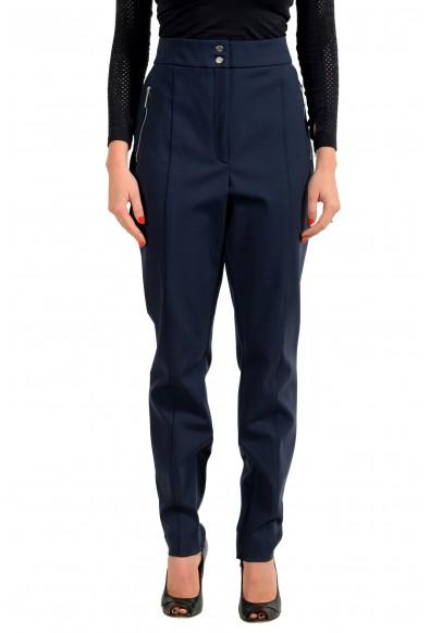 "Hugo Boss Women's ""Hatine"" Dark Blue Casual Pants"