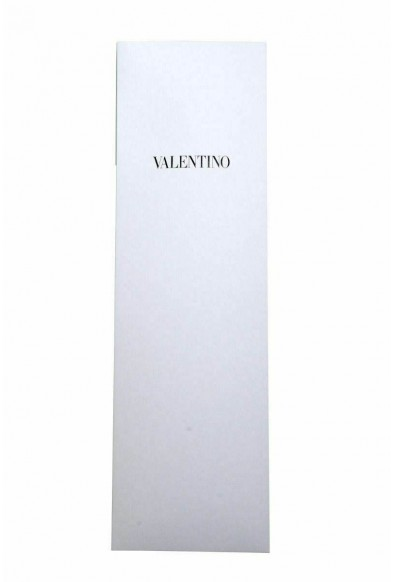Valentino Black Geometric Print Men's 100% Silk Neck Tie: Picture 2