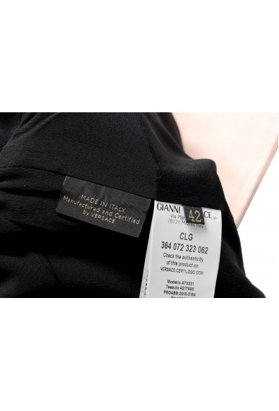 Versace Women's Pink Full Zip Denim Jacket: Picture 2