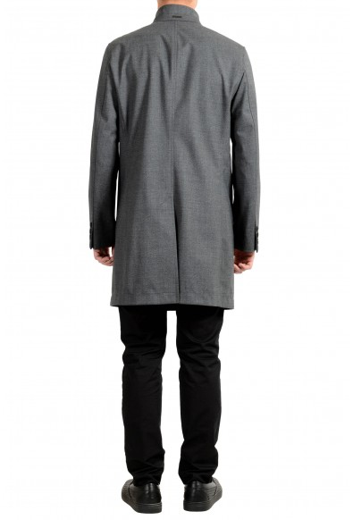 "Hugo Boss ""Shanty1"" Men's Wool Gray Slim Fit Trench Coat: Picture 2"