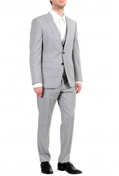 """Hugo Boss """"Huge6/Genius5WE"""" Men's 100% Wool Slim Two Button Three Piece Suit: Picture 2"""