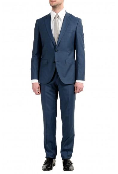 """Hugo Boss """"C-Jefferd/C-Stedson"""" Men's 100% Wool Blue Two Button Suit"""