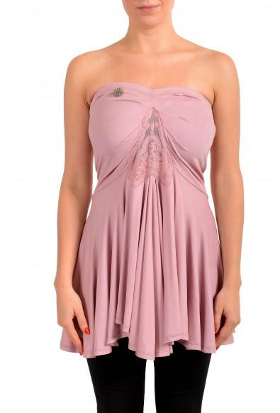 John Galliano Women's Pink Tunic Blouse Top