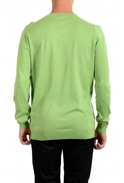 Kiton Men's Green Crewneck Pullover Sweater : Picture 2