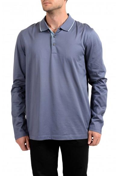 "Hugo Boss Men's ""Paschal_02"" Slim Fit Long Sleeve Polo Shirt"
