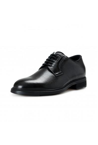 "Hugo Boss Men's ""Firstclass_Derb_gr"" Black Leather Derby Shoes"