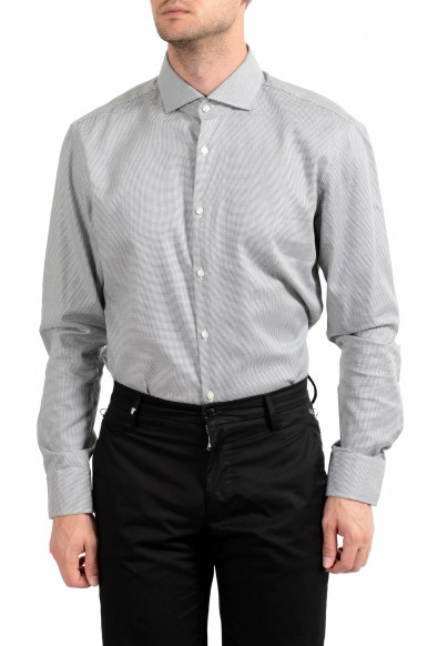 "Hugo Boss Men's ""Jery"" Slim Fit Plaid Long Sleeve Dress Shirt: Picture 2"