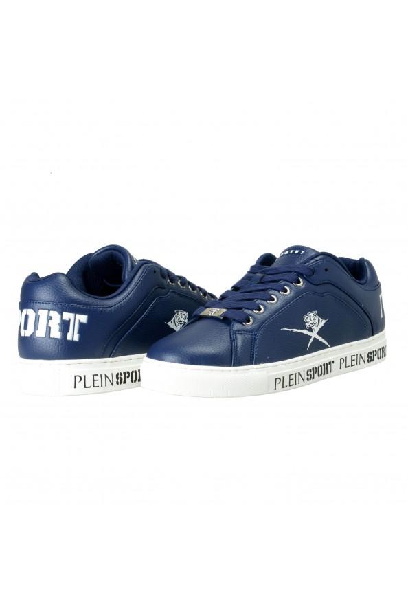 "Plein Sport ""Julian"" Blue Fashion Sneakers Shoes: Picture 3"