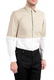 "Hugo Boss ""Jeven"" Men's Slim Two Tones Long Sleeve Dress Shirt: Picture 4"