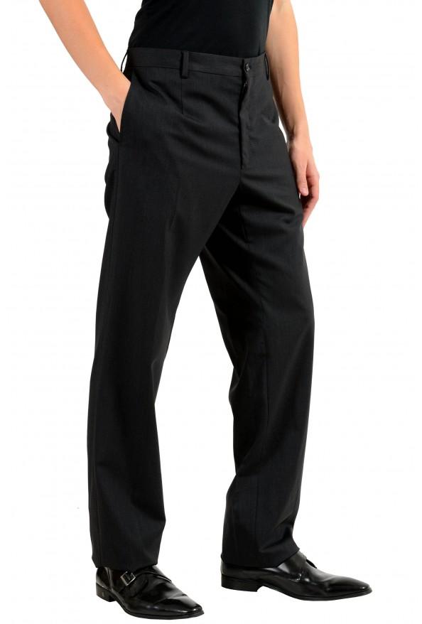 Dolce & Gabbana Men's Wool Charcoal Dress Pants: Picture 2