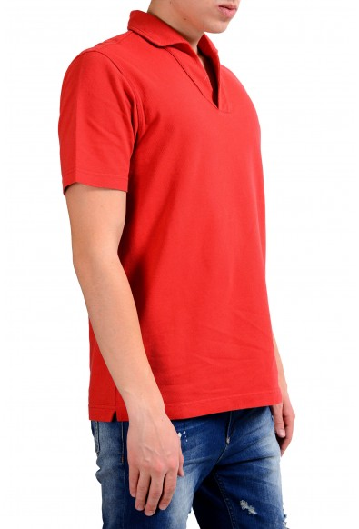 Malo Men's Red Short Sleeve Polo Shirt : Picture 2