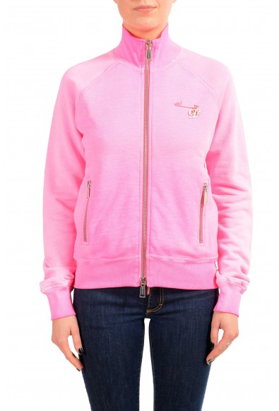 Dsquared2 Women's Pink Full Zip Track Jacket: Picture 2