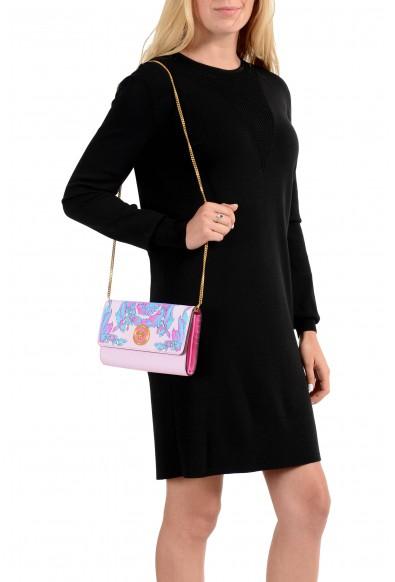 Versace 100% Leather Multi-Color Women's Clutch Shoulder Bag: Picture 2