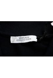 Versace Collection Men's Black Logo Short Sleeve Polo Shirt: Picture 4