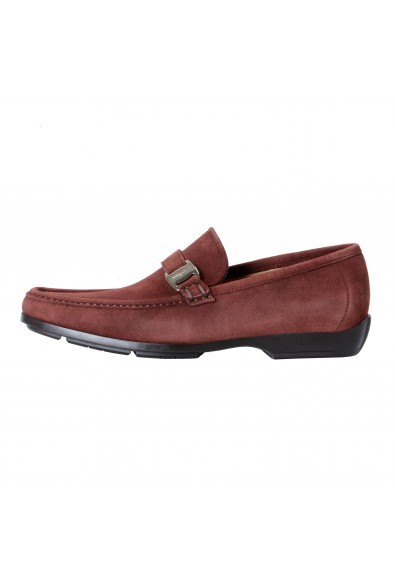 "Salvatore Ferragamo Men's ""GEROLAMO 5"" Brown Suede Leather Loafers Shoes: Picture 2"