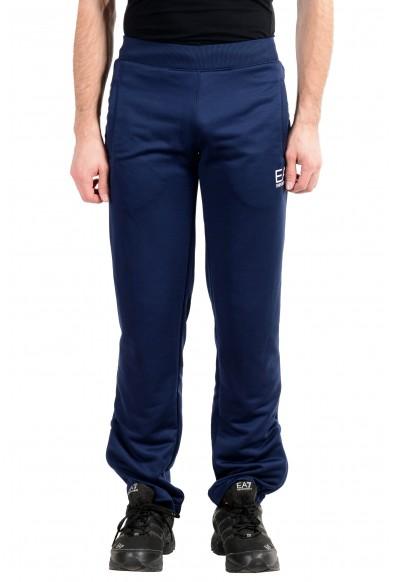 """Emporio Armani EA7 """"Train Squash"""" Men's Dark Blue Train Sweat Pants"""