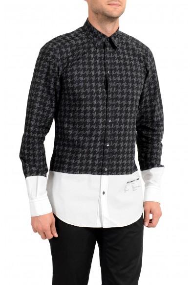 """Dolce&Gabbana """"Gold"""" Men's Long Sleeve Dress Shirt"""