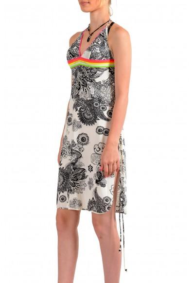 Just Cavalli Women's Multi-Color Stretch A-Line Sundress Dress: Picture 2