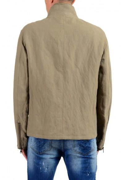 John Varvatos Men's Gray Full Zip Windbreaker Jacket: Picture 2