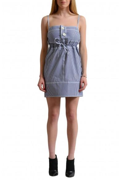 Dsquared2 Multi-Color Striped Women's Sheath Dress