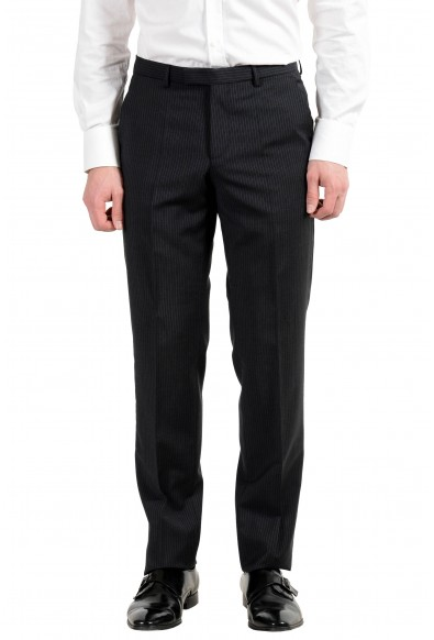 """Hugo Boss """"The Grand1/Central1US"""" Men's 100% Wool Striped Two Button Suit: Picture 2"""