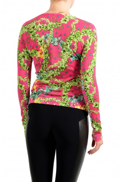 Versace Jeans Couture Women's Multi-Color 100% Silk Pullover Sweater: Picture 2