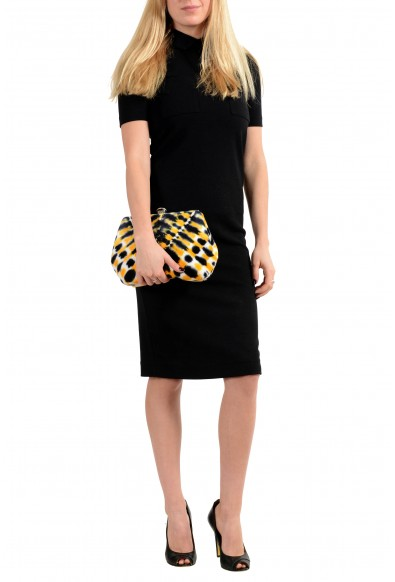 Proenza Schouler Women's Multi-Color Velour Leather Clutch Shoulder Bag: Picture 2