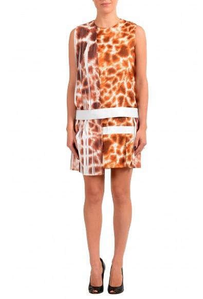 Just Cavalli Women's Multi-Color Pleated Shift Dress