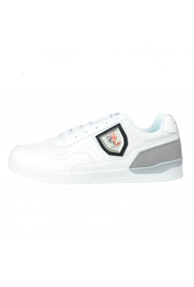 """Plein Sport """"Unseld"""" White Fashion Sneakers Shoes: Picture 2"""