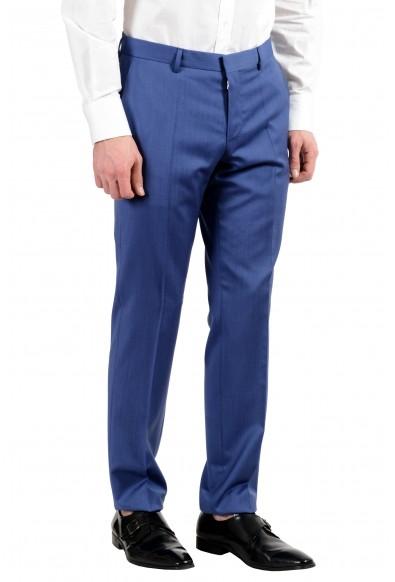 "Hugo Boss ""Huge5/Genius3"" Men's 100% Wool Blue Two Button Suit: Picture 2"