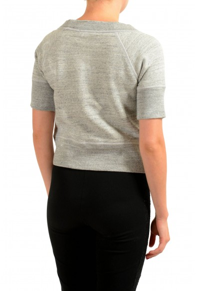 Dsquared2 Gray Short Sleeve Women's Top: Picture 2